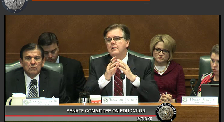 Texas Senate committee recycles bad ideas on private-school vouchers and charter expansion