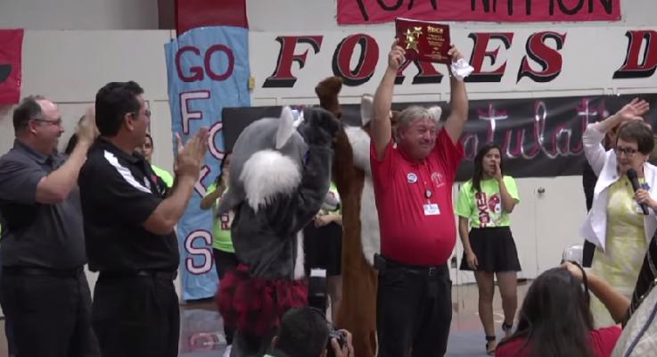 Texas AFT Teacher Honored