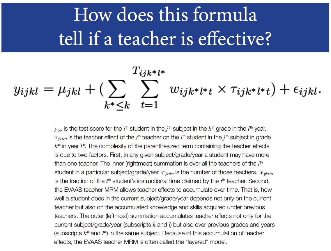 Texas aft federal court ruling deals another mammoth blow to the part of the evaas formula for teacher evaluations 1betcityfo Gallery