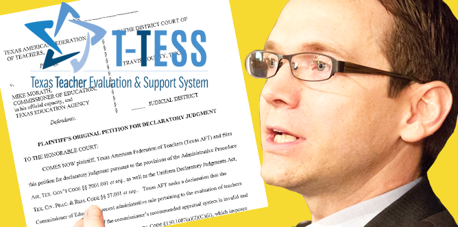 Texas AFT reaches lawsuit settlement with TEA Commissioner Mike Morath on teacher evaluation requirements