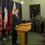 Lt. Gov. Dan Patrick talks about end of session issues on May 17, 2017