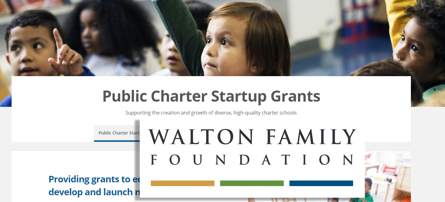 Walton Family Foundation Charters
