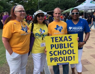 Educators Speak Out On Underfunding Of >> Texas Aft Texas Speak Out And Stand Together Rally Unites