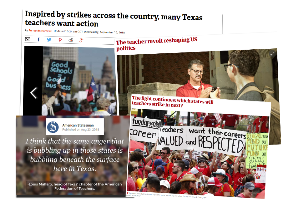 Educators Speak Out On Underfunding Of >> Texas Aft The Round Up September 11 2018