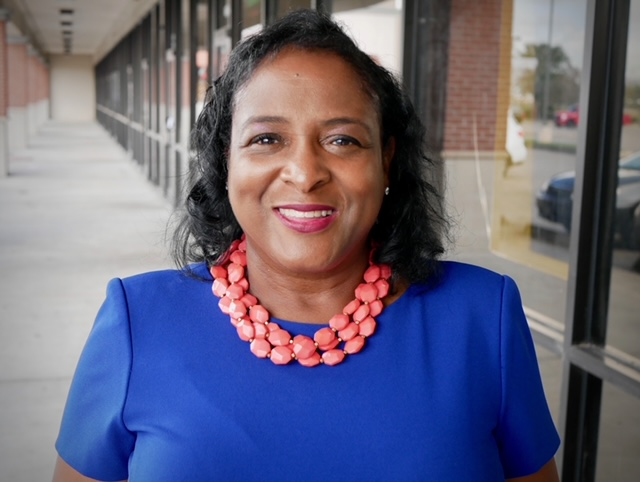 Shonda Below, president of Northeast Houston A-F-T