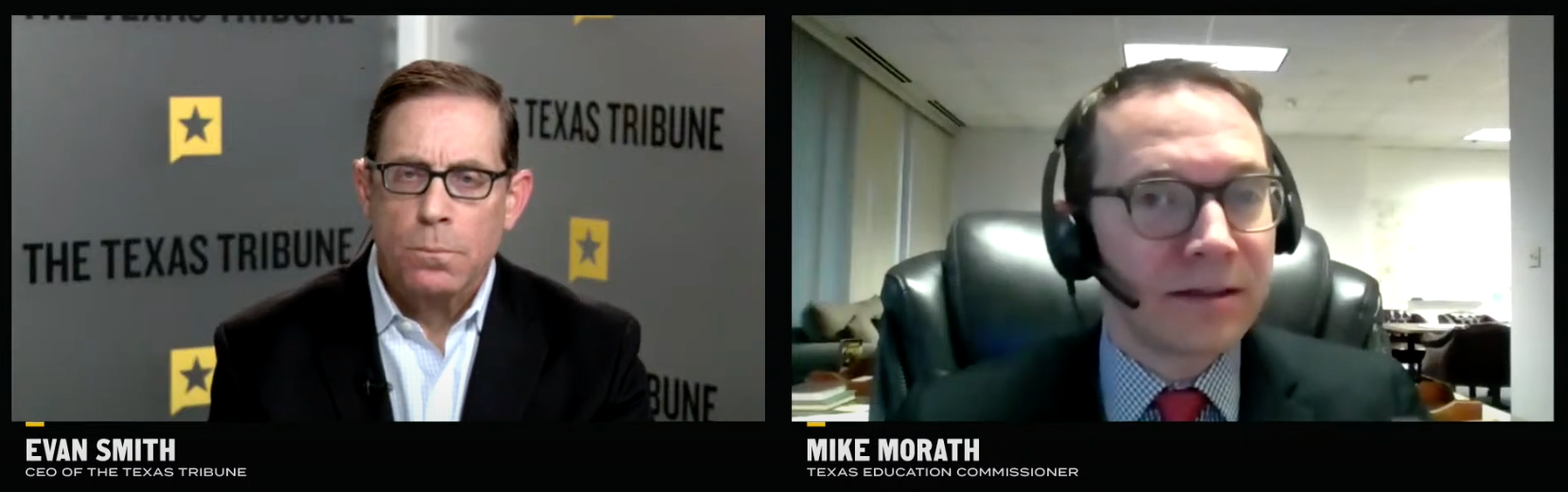 Evan Smith and Mike Morath